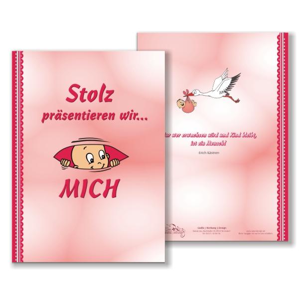 Babytagebuch für Mädchen